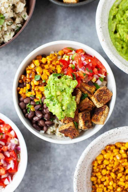 Chipotle Inspired Vegan Burrito Bowl