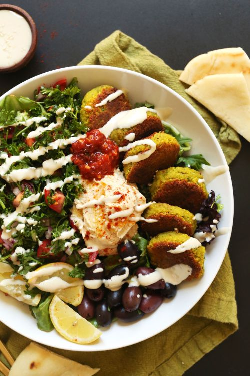 The Ultimate Mediterranean Bowl