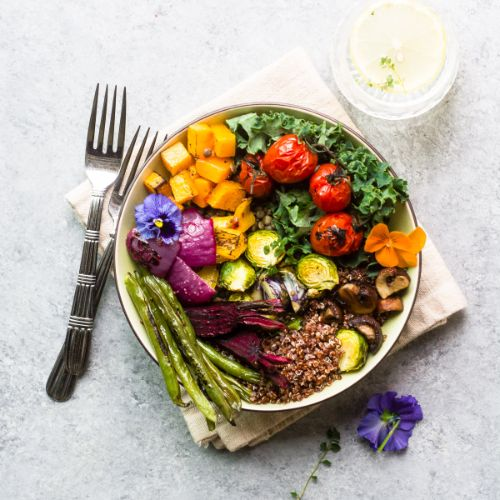 Roasted Veggie Winter Bliss Bowl