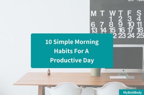 10 simple morning habits for a productive day