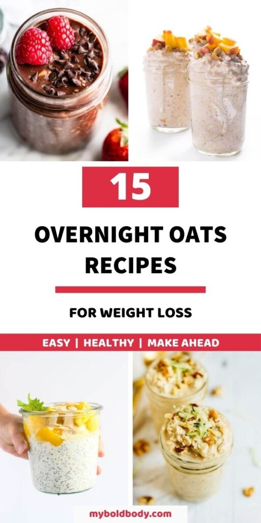 Start your day right with these 15 easy, delicious and healthy overnight oats recipes to satisfy your cravings. These yummmy overnight oats make the perfect make ahead breakfast recipe to enjoy or healthy breakfast meal prep idea. And they taste so good #oatmeal #overnightoats #oats #healthybreakfast #breakfastmealprep #breakfastideas