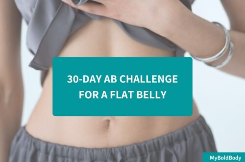 30 day ab challenge for a flat belly