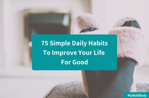 75 simple daily habits to improve life