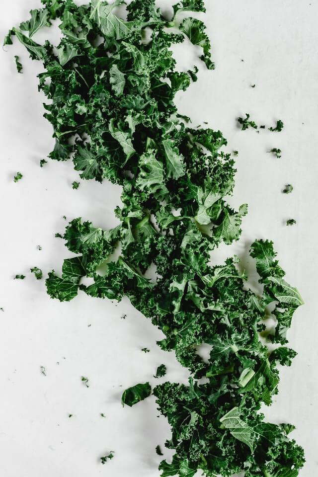 Leafy greens foods for clearer skin