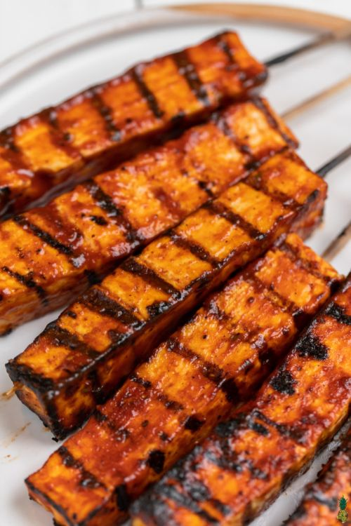 Barbecue Tofu Skewers