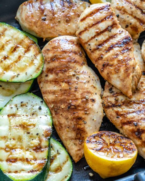 Lemon Garlic Chicken Breasts