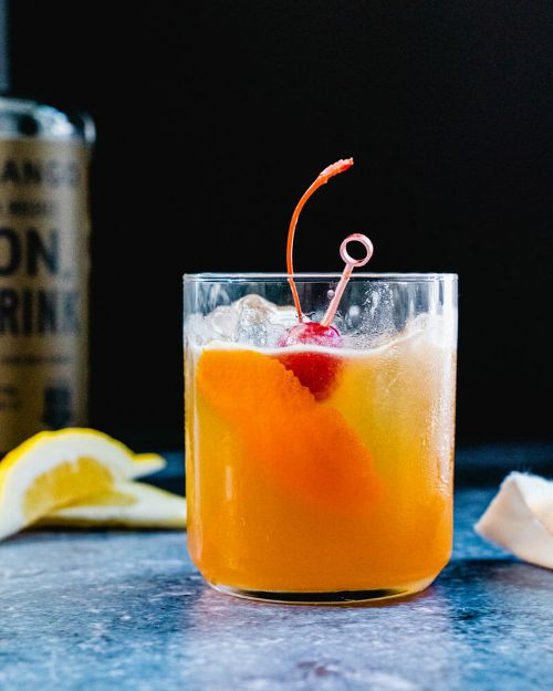 Best Naturally Sweetened Whiskey Sour