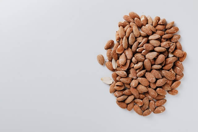 Almonds plant-based protein
