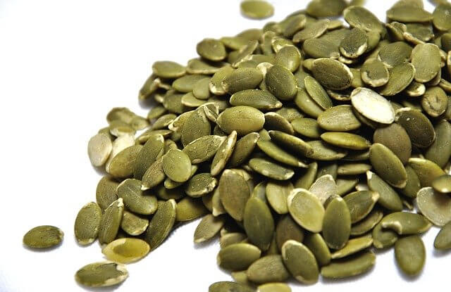 Pumpkin seeds plant-based protein
