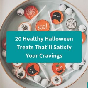 20 Healthy Halloween Treats You're Really Going To Love