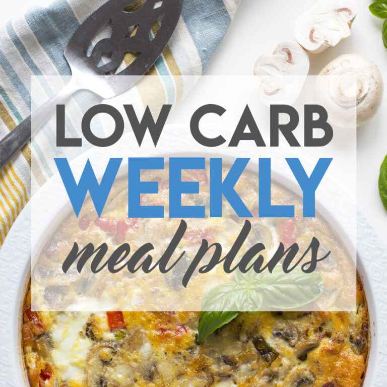 Keto weekly meal plans